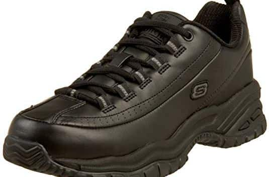 Skechers Soft Stride Slip Resistant Lace-Up Shoes