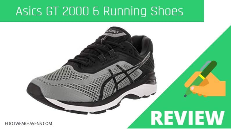 Asics GT 2000 6 Lightweight Running Shoes Review