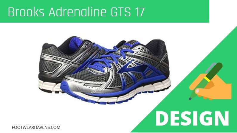 Brooks Adrenaline GTS 17 Design