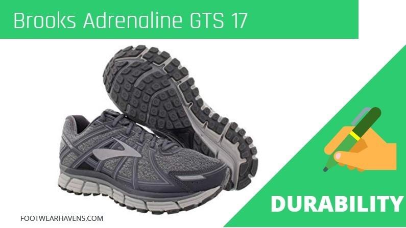 Brooks Adrenaline GTS 17 Durability