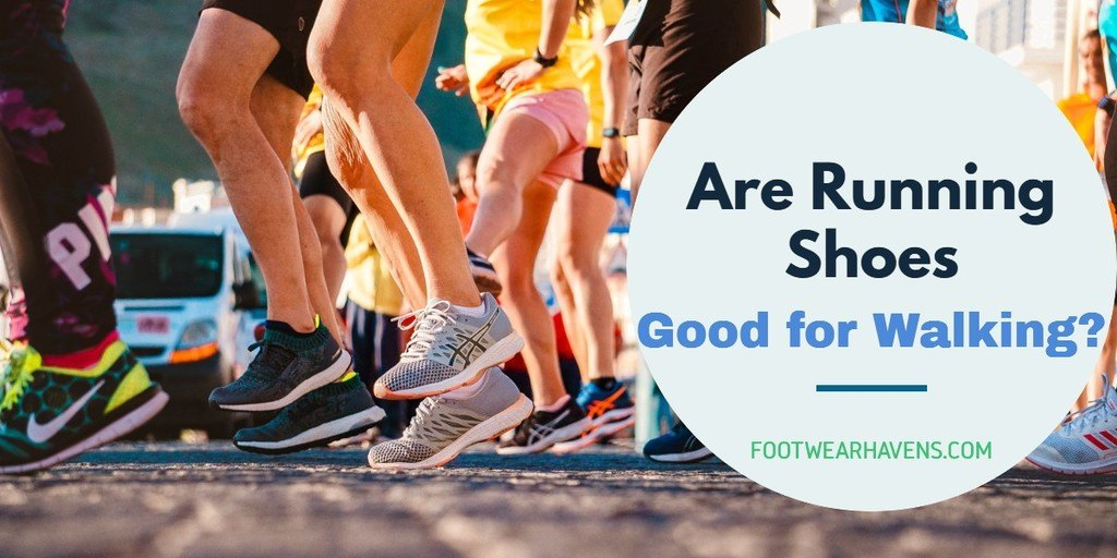 Are Running Shoes Good for Walking